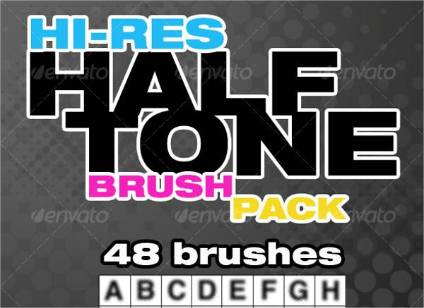 Hi-Res Halftone Brushes