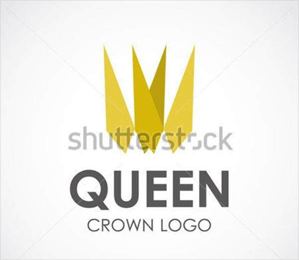 abstract queen logo