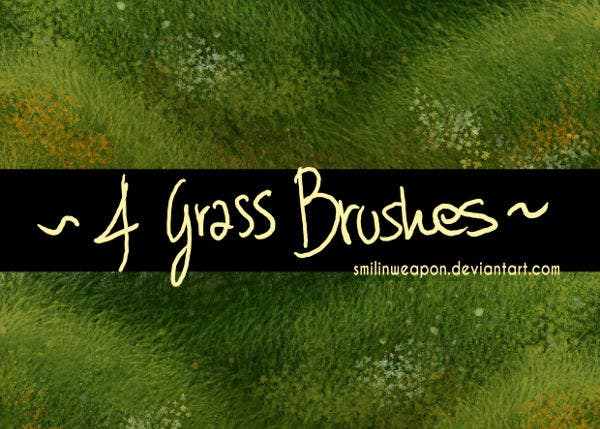 Vector Grass Brushes