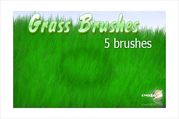Grass Photoshop Brushes