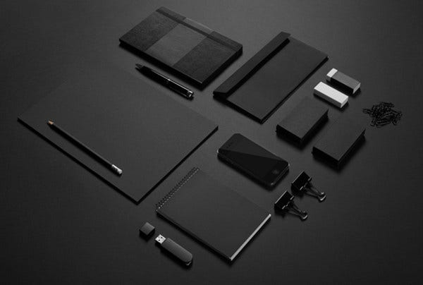black-stationery-mockup