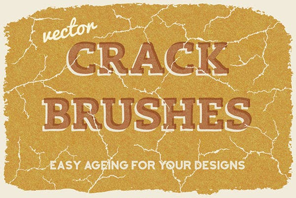 vector crack brushes