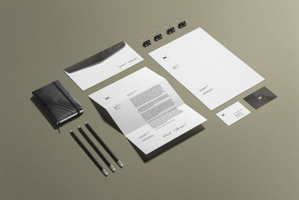 Business Stationery Mockup