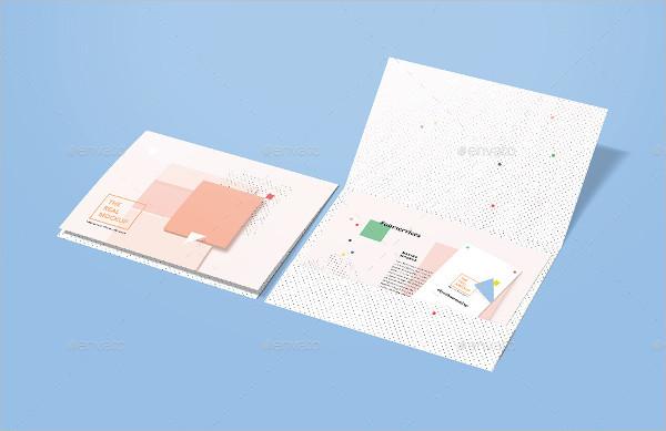 Landscape Folder Mockup