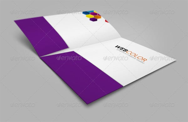 Company Folders Mockup
