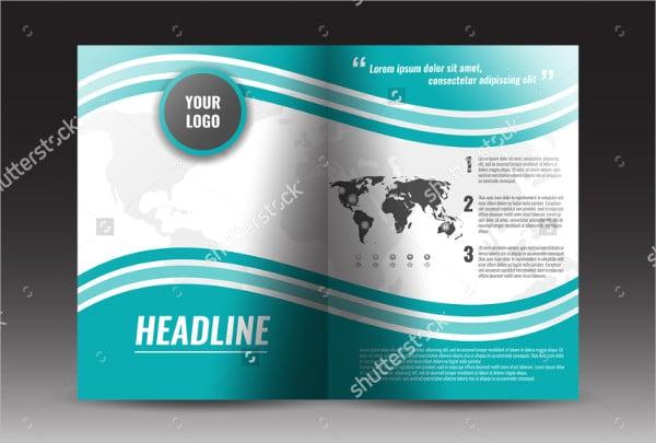 Bi Fold Annual Report Brochure