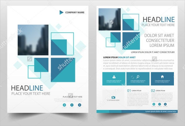Annual Report Brochure  Printable Psd Ai Indesign Vector