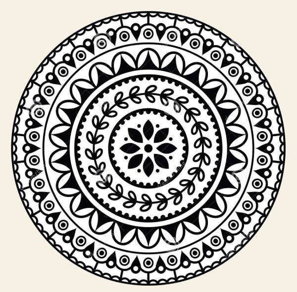 geometric mandala pattern
