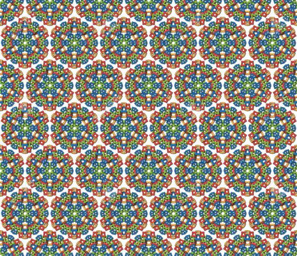 mandala aztec pattern
