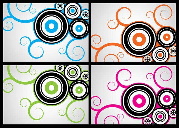 swirl circle vector