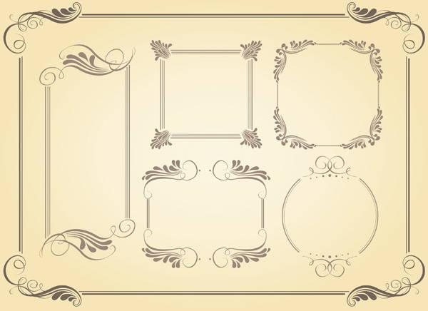 swirl-frame-vector