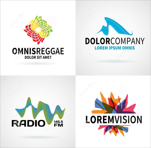 modern abstract logo