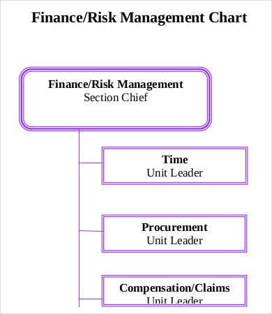 Finance Risk Management Chart Template