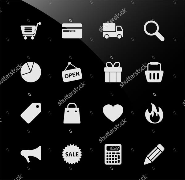 Retail Web Icons