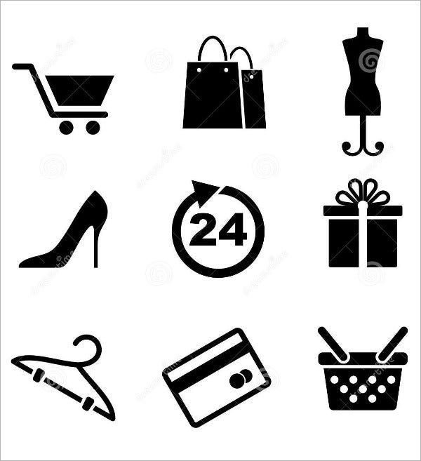 Retail Marketing Icons