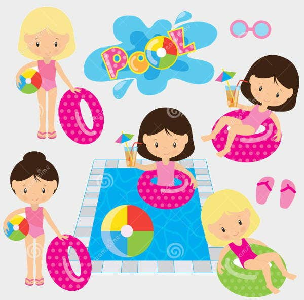 pool-party-vector