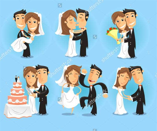 bridal-party-vector