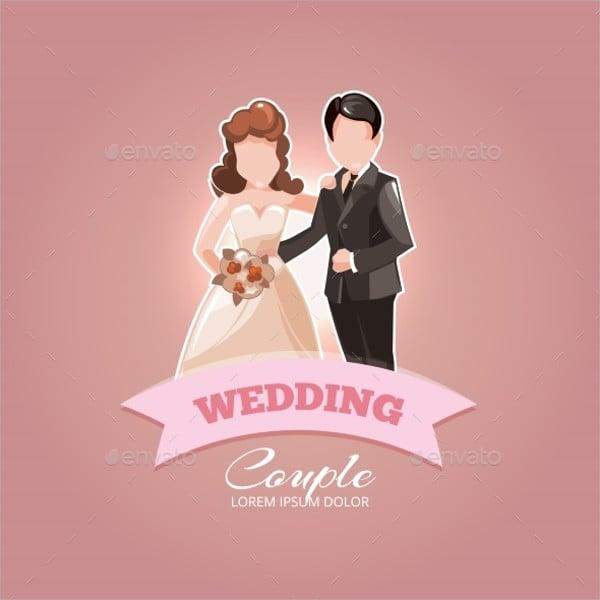 wedding couples vector