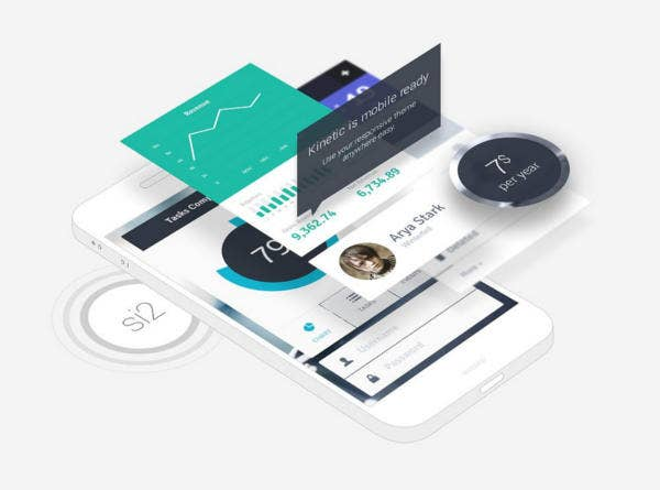 Professional Mobile App Mockup