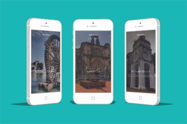PSDs Smart Phone App Mockup