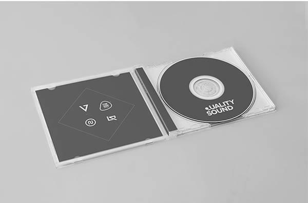 cd album mockup