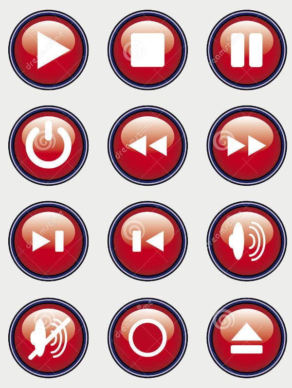record-play-icons