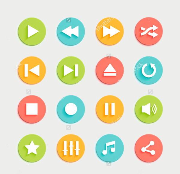 play circle icons