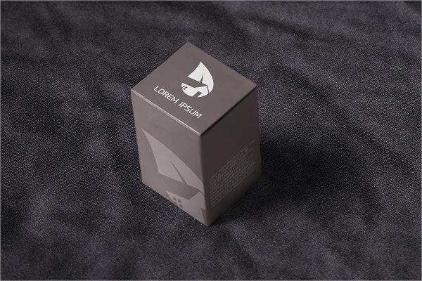 package box mockup design