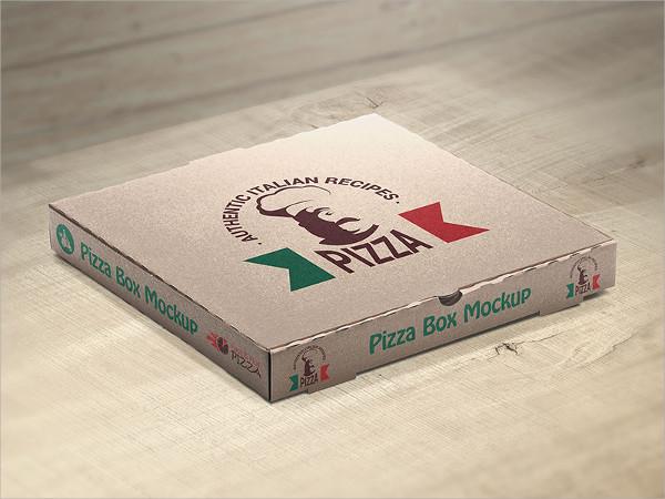Pizza Packaging Box Mockup