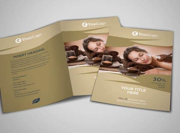 Spa Brochures  Printable Psd Ai Indesign Vector Eps Format