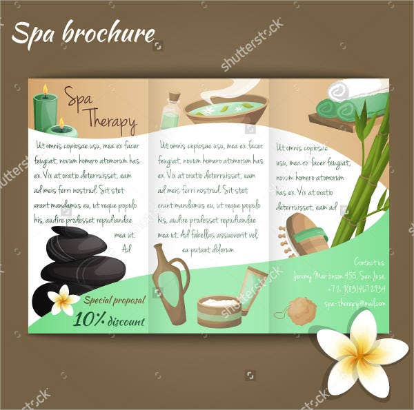 spa salon brochure1