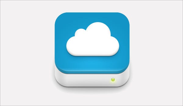 cloud drive icons
