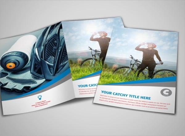 Sports Activity Bi-fold Brochure