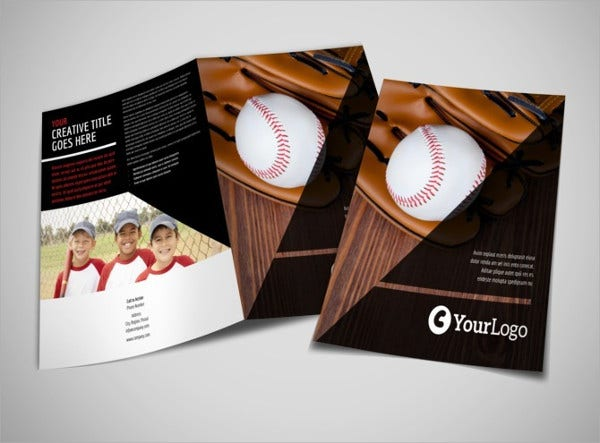 Sports Brochures 8 Printable PSD AI InDesign Vector EPS – Sports Brochure