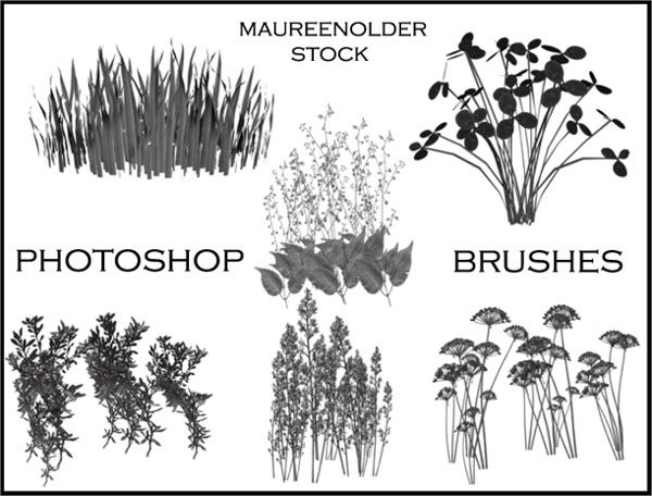 Plant Photoshop Brushes