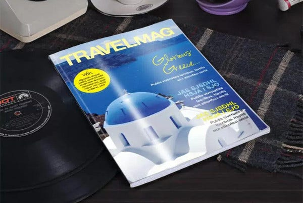 World Travel Magazine Template