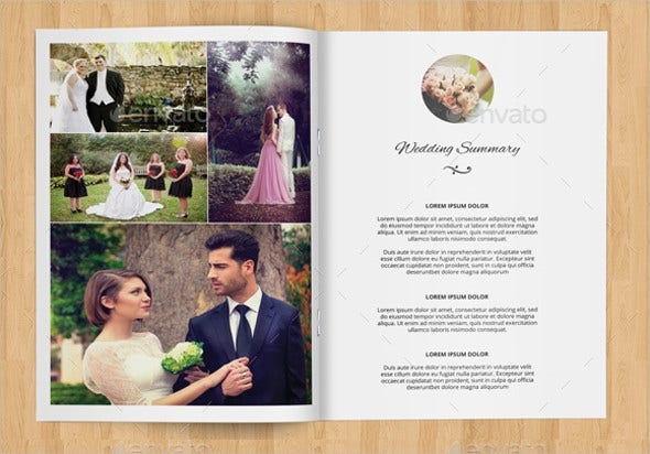 Wedding Magazine Templates  Free Sample Example Format