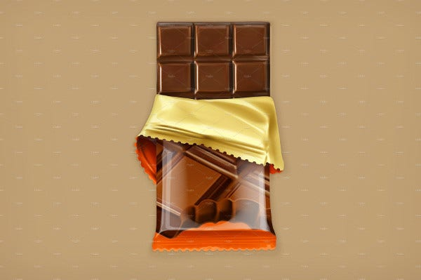 10 Chocolate Wrapper Templates Free Sample Example