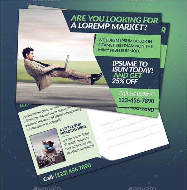 Marketing Corporate Postcard