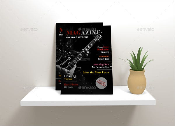 A4 Multipurpose Magazine Template