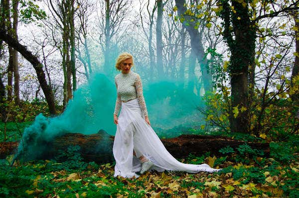 Smoke Wedding Photography