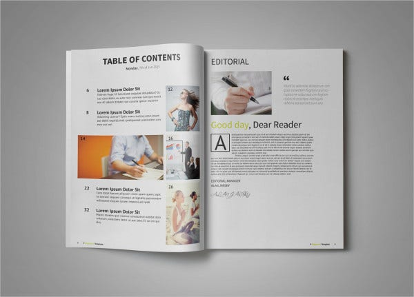 Clean Multipurpose Magazine Template