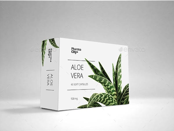 Soap Packaging Box Template