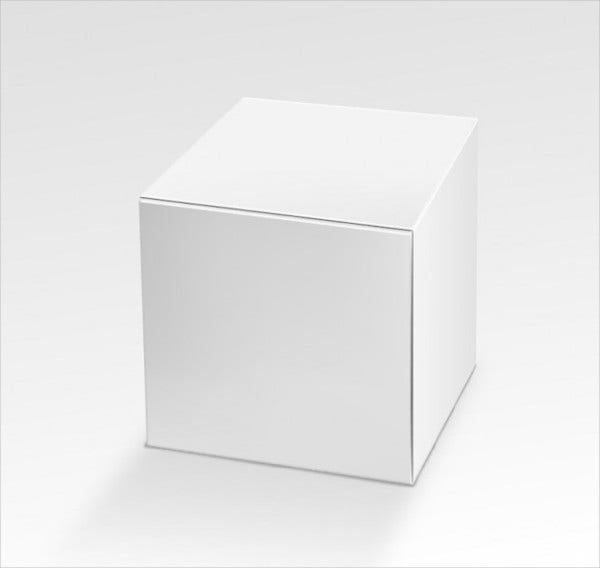 Square Packaging Box Template