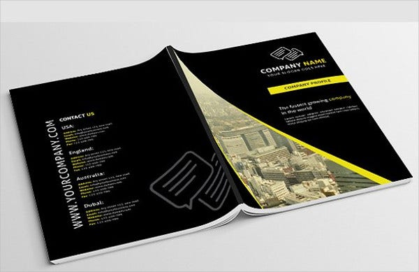 Portfolio Brochures Free PSD Vector AI EPS Format Download - Portfolio brochure template