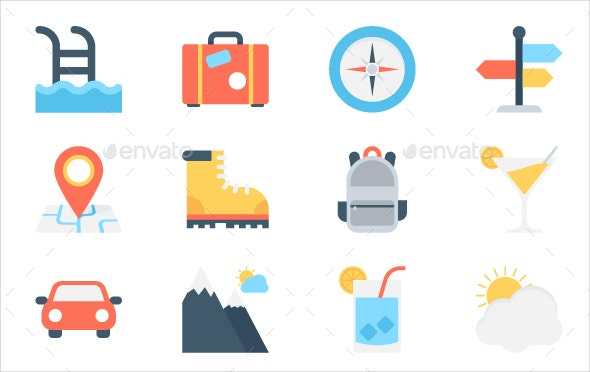 flat-travel-icons