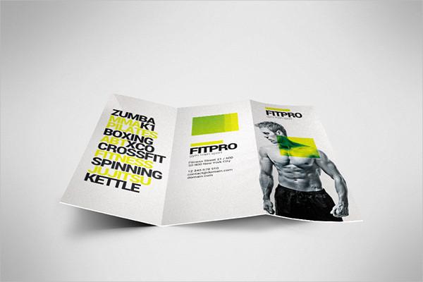 Tri-fold Fitness Brochure