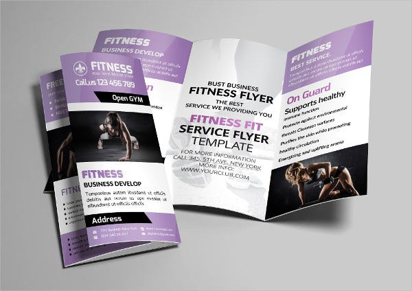 Fitness Brochure - 9+ Free PSD, Vector AI, EPS Format Download ...