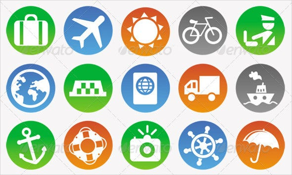 vector-travel-icons