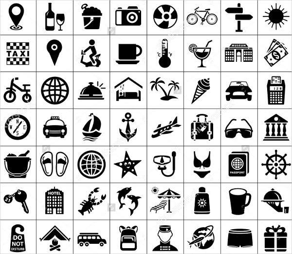 travel-tourism-icons